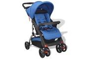 GENERIQUE Transport de bébés ensemble bagdad poussette bleu 102 x 52 x 100 cm