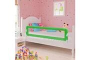 Vidaxl Barrière de lit pour enfants 150 x 42 cm vert