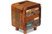 Vidaxl Table de chevet bois de récupération massif 43 x 33 x 51 cm