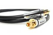 Akord Akord câble audio optique numérique s/pdif toslink - connecteurs plaqué or 24k - haute résolution professionnel. Branchez votre home cinéma, ps3, ps4, xbox, xbox one, lecteur blu-ray, dvd, cd, mini disc, dat et autres appareils audio numériques 0.5