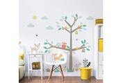 Walltastic Sticker geant arbre et animaux de la forêt
