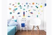 Walltastic 55 stickers enfants espace