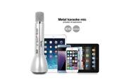 Dealstore Micro sans fil avec bluetooth et haut parleur argent