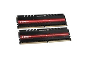 Team Group Mémoire team group delta series rouge led, ddr4-2400, cl15 - 16 gb kit