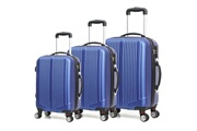 Robby Set de 3 valises à roulettes bleu navy - robby - trotter case bleu navy