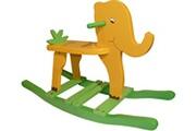 No-name Elephant à bascule pour enfant jungle