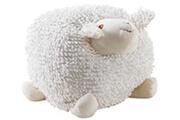 Aubry Gaspard Mouton en coton blanc shaggy 30 cm