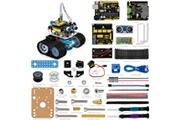 Viewtek Viewtek ks0071 -kit robot mini tank arduino - évitement d'obstacle à ultrason - carte uno r3 - télécommande par bluetooth via smartphone- guide & 5