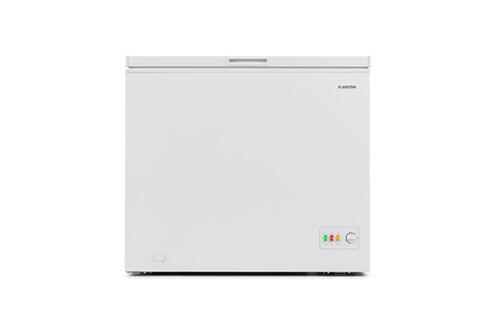 KLARSTEIN Iceblokk 200 congélateur coffre 4 étoiles 200 litres - classe énergétique a++ - blanc