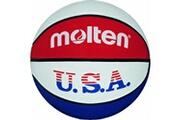 Molten Molten ballon de basket pour l entraànement aux couleurs des etats unis couleurs bleu/blanc/rouge taille 7 2017