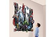 Walltastic Poster xxl avec personnages en relief avengers marvel 3d pop out 122x152 cm