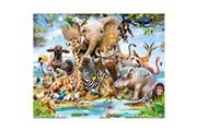 Walltastic Papier peint enfant le monde de la jungle safari walltastic 305x244 cm