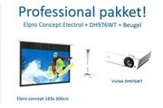 Vivitek Vivitek DH976-WT - Vidéoprojecteur DLP 1080p 3D Ready 4800 Lumens HDMI DisplayPort (garantie constructeur 2 ans/lampe 1 an)