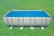 Intex Bâche à bulles intex pour piscines de 7,32 x 3,66 m