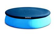 Intex Bâche pour piscine autoportée ronde intex 3.96 m
