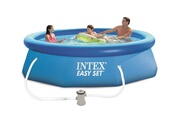 Intex Piscine autoportante easy set intex 3,05 x 0,76 m