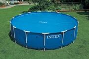 Intex Bâche à bulles pour piscines rondes intex 3.66 m