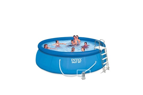 Intex Piscine autoportée easy set intex 4,57 x 1,22 m