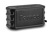 Alpexe Enceinte bluetooth 4.2 haut-parleur avec support pour bicyclette / basse renforcée / imperméable / microphone / powerbank fonction noir