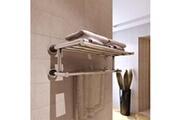GENERIQUE Accessoires de salle de bain ligne kinshasa porte serviettes double - barre fixe 6 tubes
