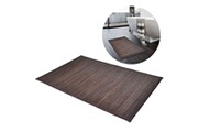 GENERIQUE Accessoires de salle de bain edition bangkok tapis de bain 40 x 50 cm bambou marron foncé