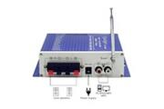 Alpexe Mini amplificateur audio 12v pour voiture/maison radio ordinateur sd/dvd/usb/mp3/fm