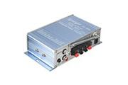 Alpexe Mini hi-fi amplificateur stéréo super bass pour voiture/iphone/ordinateur/cd/md/mp3/mp4/ipod/fm bleu
