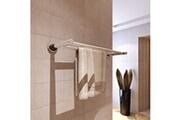 GENERIQUE Accessoires de salle de bain reference saint-domingue porte serviettes double - barre fixe 2 tubes