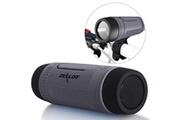 Alpexe Enceintes bluetooth waterproof haut-parleurs sans fil portable avec 4000mah alimentation externe led - gris