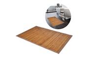 GENERIQUE Accessoires de salle de bain collection n'djaména tapis de bain en bambou 60 x 90 cm marron