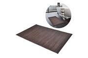 GENERIQUE Accessoires de salle de bain famille dili tapis de bain en bambou 60 x 90 cm marron foncé