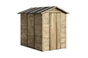 Cémonjardin Abri de rangement en bois anaïs 2.82 m²