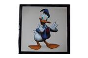 Guizmax Tableau donald disney mickey cadre 23 x 23 cm enfant