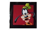 Guizmax Tableau dingo disney mickey cadre 23 x 23 cm
