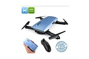 Auto High Tech Drone de poche pliable - caméra 720p, 6 axes, temps de vol de 7 min, fpv, app support, planification de vol