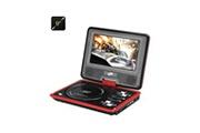 Auto High Tech Lecteur dvd portable 9 pouce ecran pivotant 270 degrée fente pour carte sd