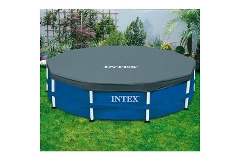 Intex Pack piscine tubulaire et épurateur intex metalframe 3.05 x 0.76 m + bâche