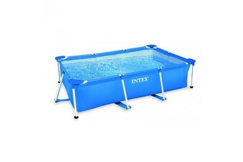 Intex Pack piscine tubulaire intex metalframe junior 3 x 2 x 0.75 m + bâche