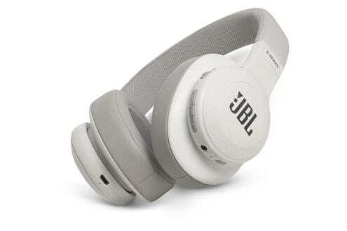 Jbl Casque Audio Sans Fil Bluetooth Jbl E55 Bt Blanc Casque Circum