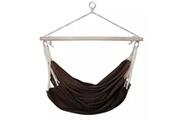 GENERIQUE Vie en extérieur gamme douchanbé hamac chaise 100 x 80 cm chocolat