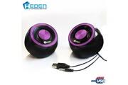 HEDEN Haut-parleurs / enceintes usb heden spk170ucv0 5w violet pour pc mac et linux