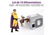 Dell Lot x10 alimentations dell optiplex 360 380 dt 235w hp-d2353p0 h235pd-01 m619f
