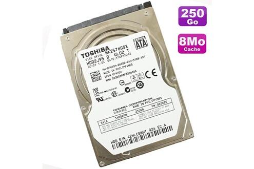 Toshiba Disque dur 250go sata 2.5