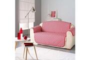 Douceur D Interieur Protège canapé matelassé microfibre kiria rouge 279x179 cm