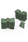 Provence Outillage Clips plastique 3.5cm 24 pièces
