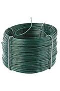 Provence Outillage Rouleau de fil de fer plastifié 50 mètres