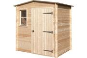 CIHB Abri de jardin en bois non traité basic 3.36 m²