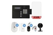 Iprotect Evolution Kit alarme ip09 gsm avec sirène flash exterieure et caméra ip foscam c1