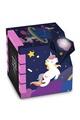 BIG BEN INTERACTIVE Radio réveil cube projecteur décor licorne