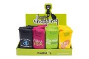 Garmol Garmol sacs à courses pliables présentoir de 40 assortis